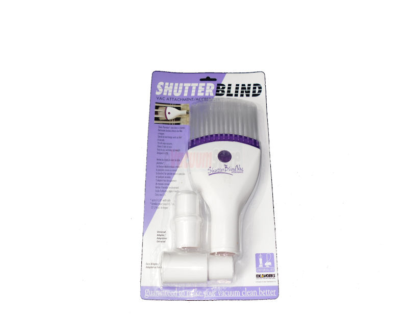Shutter Blind Vacuum Attachment