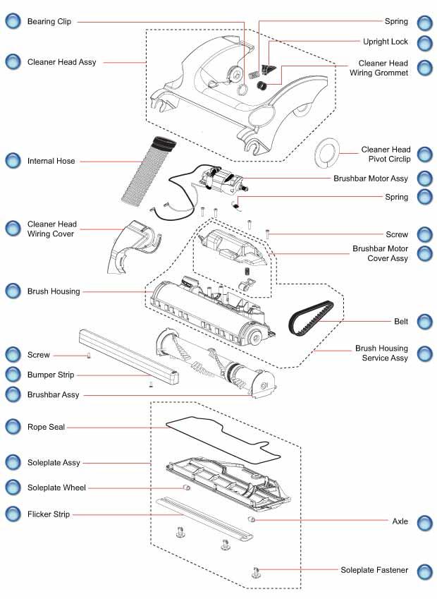 Dyson Dc17 Cleaner Head Parts Evacuumstore Com