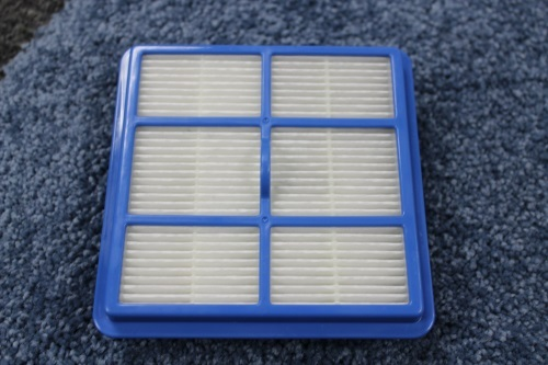 Electrolux HEPA filter removed