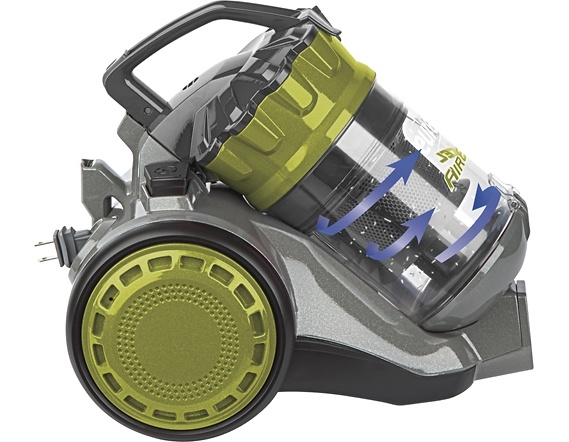 eureka airexcel nls hepa bagless canister vacuum 990a - Canister Vacuum Cleaners
