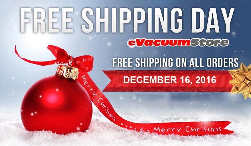 Free Shipping Day 2016 Vacuum Cleaners