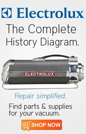 Electrolux Vacuum Cleaner History