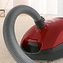 The Miele Capri canister vacuum features a flexible hose that will allow you reach and clean any hard to reach surfaces