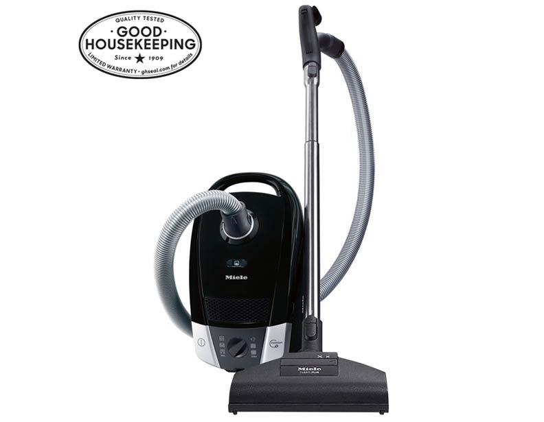 Miele Compact C2 Onyx Canister Vacuum Cleaner with STB205-3 Turbo Brush