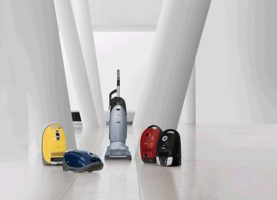Miele vacum cleaner colors
