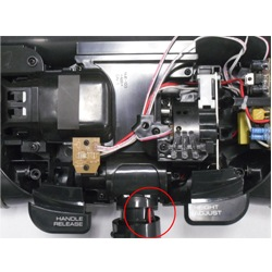 NUE 003 Black and Red Wires fix of the week how to change electrolux part nue 003 coupling  at gsmx.co