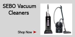 Black Friday SEBO Vacuum Deals Extravaganza