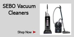 SEBO Cyber Monday vacuum Savings