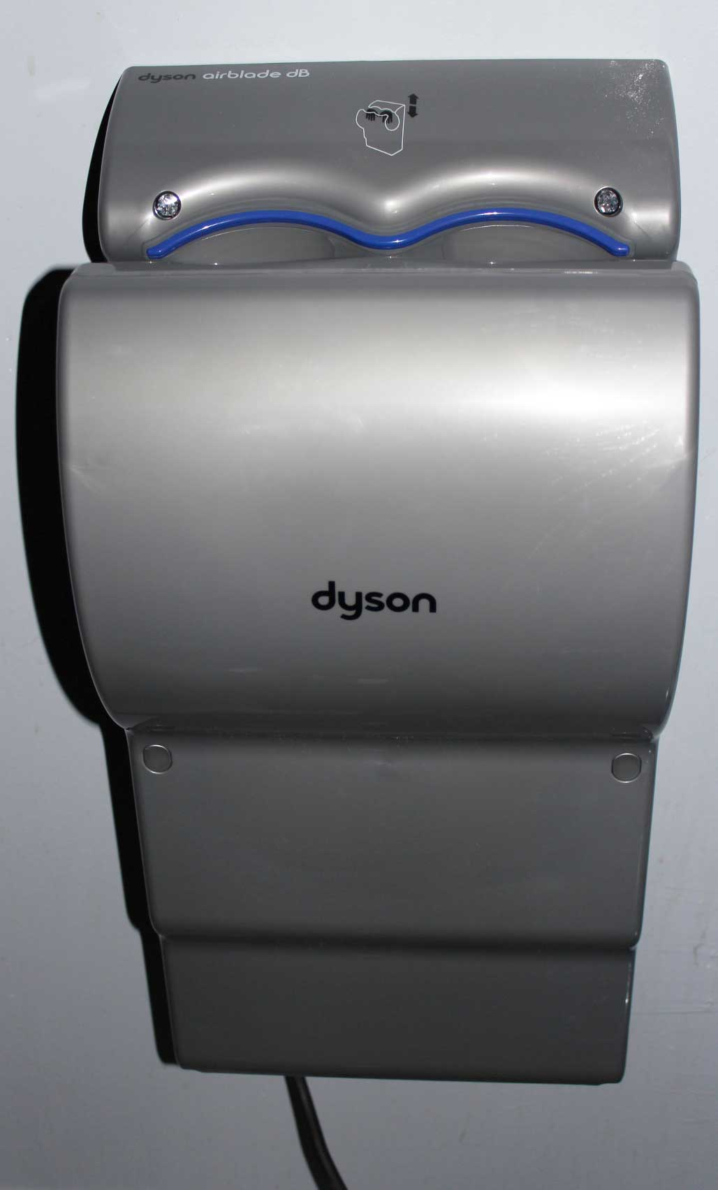 your dyson airblade has been equipped with a 110v power cord and is - Dyson Hand Dryer