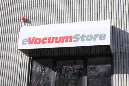 eVacuumStore.com storefront
