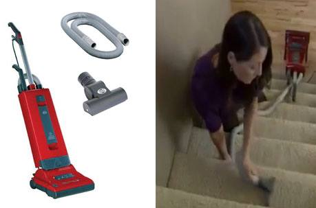 The Sebo Automatic X4 is a great vacuum for cleaning stairs