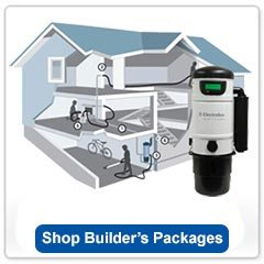 Central Vacuum Builders Packages