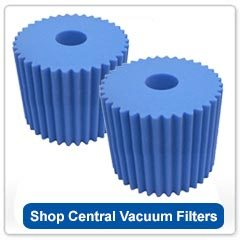 Central Vacuum Filters