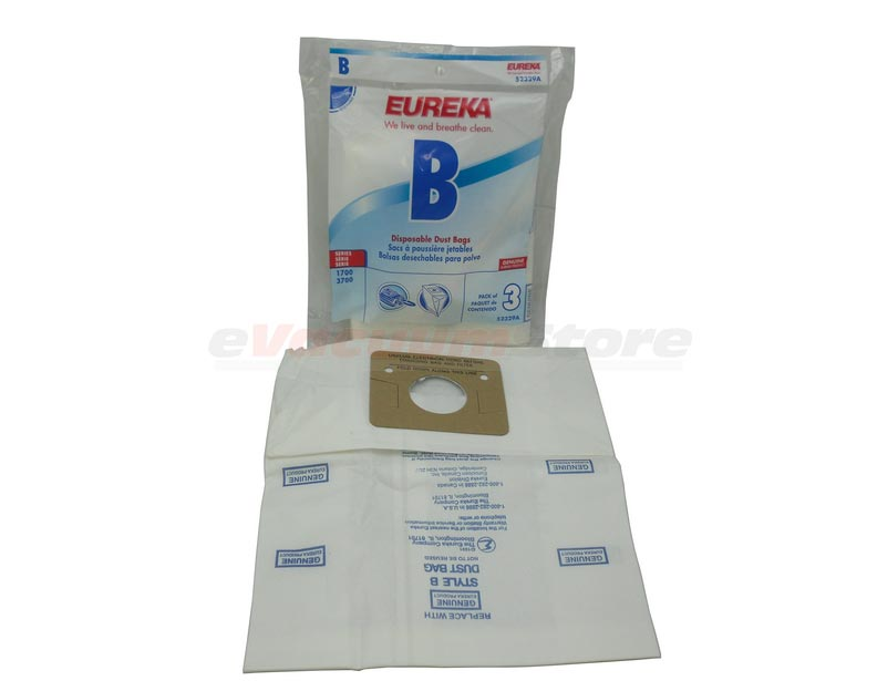 Eureka Vacuum Cleaner Bag Style B