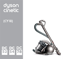 Dyson Cinetic Canister Parts List