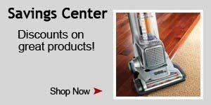 Holiday Vacuum Savings Center!
