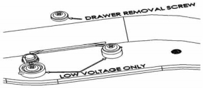 DrawerVac low voltage wiring