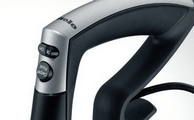 Miele Dynamic U1 AutoEco Upright Vacuum Controls on Handle