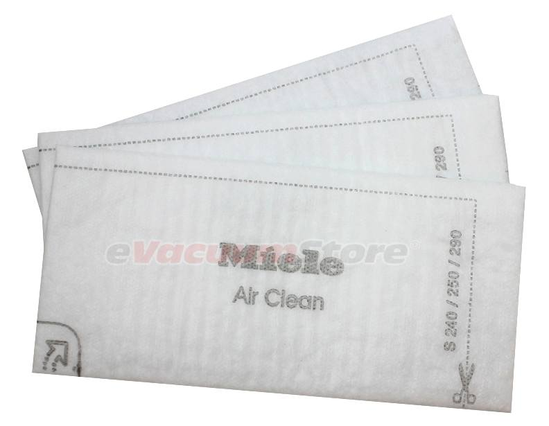 Miele Air Clean Filters - 3 Pack