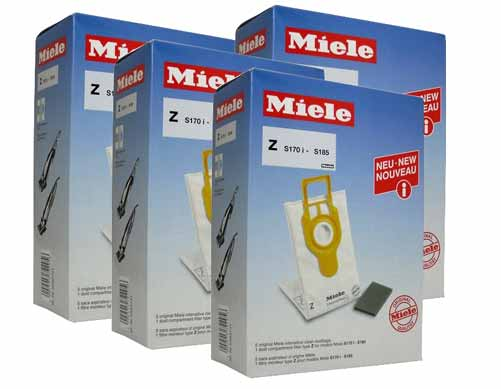 Miele IntensiveClean Filter Bags Type Z - 20 Pack