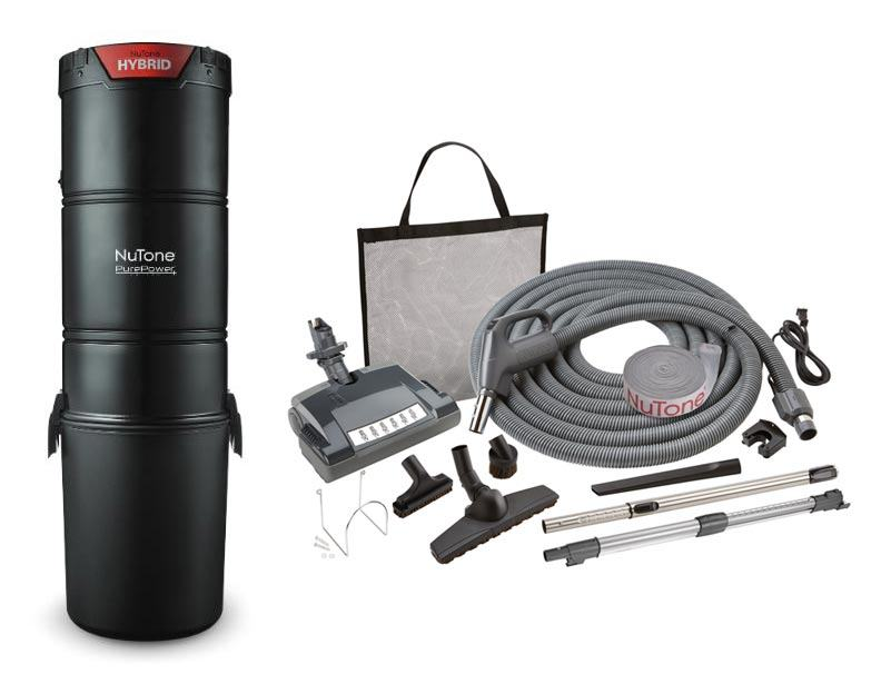 Nutone Pp650 Central Vacuum Deluxe Package Pig Tail