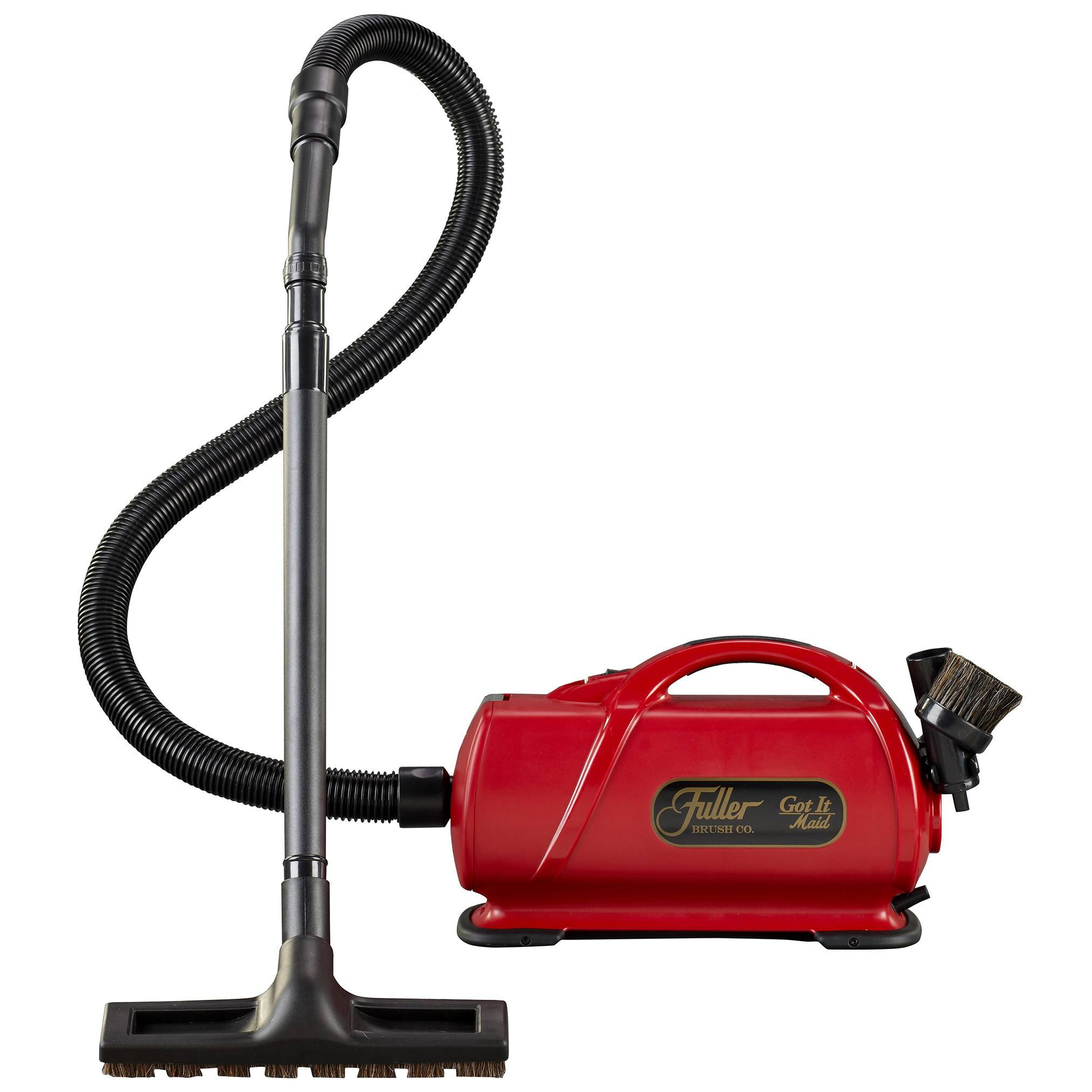 Fuller Brush Portable Canister Vacuum Cleaner