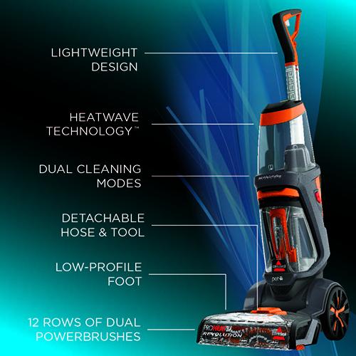 Bissell Proheat 2x Revolution Pet Evacuumstore