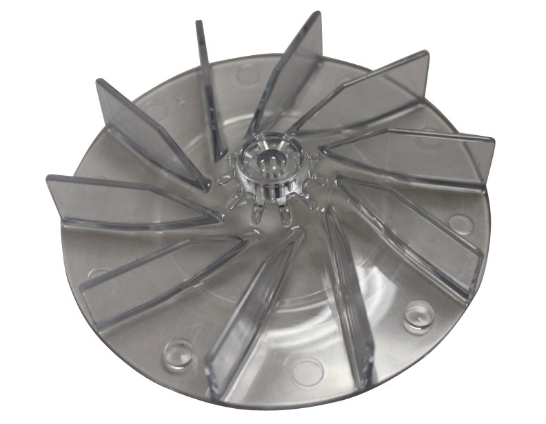 Sanitaire Commercial Upright SC887-B UPR MTR FAN-LEXAN CLEAR