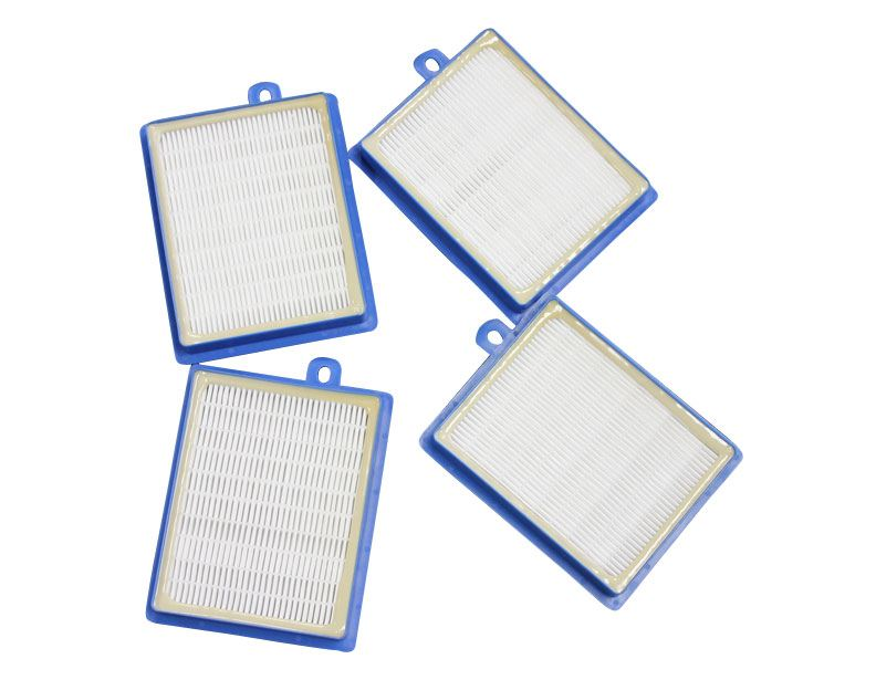 Electrolux Generic H12 Blue Washable Hepa Filter 4 Pack