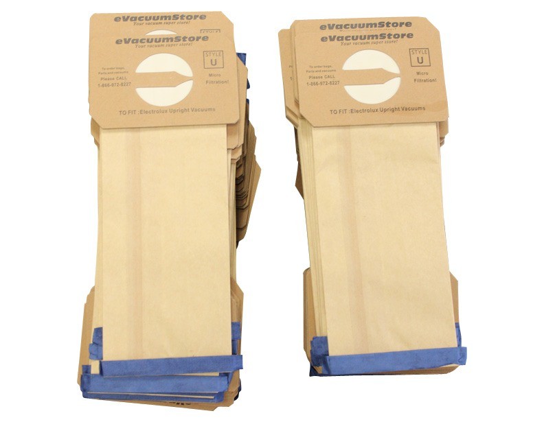 Electrolux 100 Pack Generic Upright Bags Style U