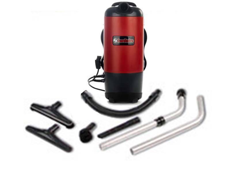 sanitaire backpack vacuum cleaner 10quart sc420a - Sanitaire Vacuum