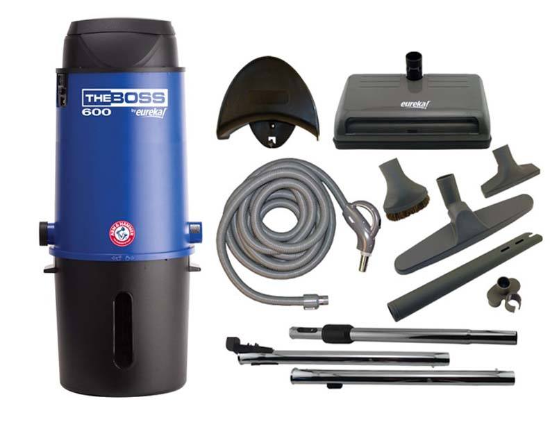 eureka the boss cv3291 central vacuum package evacuumstore com rh evacuumstore com Eureka Bagless Vacuum Cleaners Eureka the Boss Vacuum Manual