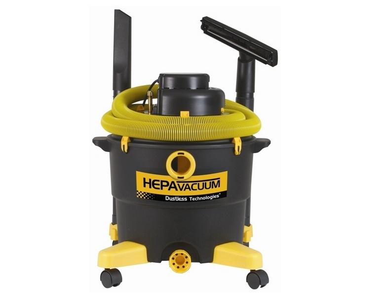 Dustless Hepa Certified Contractor Hepa Vacuum