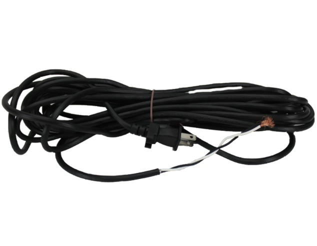 Vacuum Cleaner Power Cord 30 Foot Black 2 Wire Universal Fit