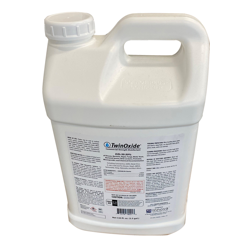Jansan TwinOxide Spray Cleaner Disinfectant | eVacuumStore.com