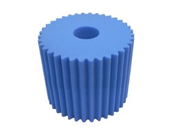 Electrolux Central Vac Filter Blue Scalloped Foam