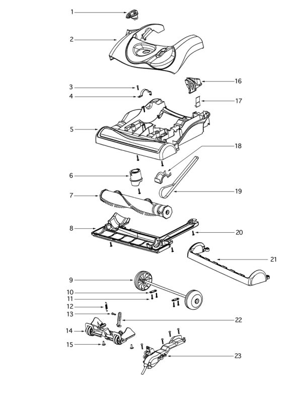 roomba parts diagram | Diarra