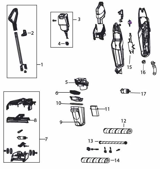 Bissell Crosswave Parts Diagram