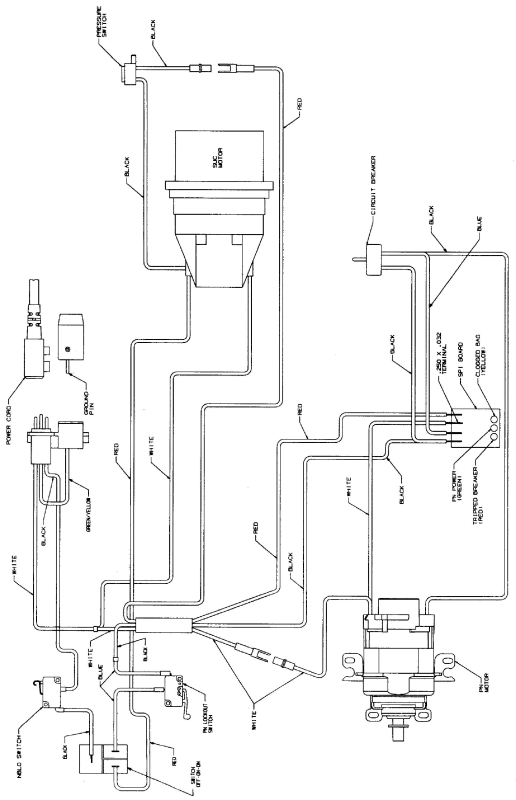 sanitaire sc6600a parts list  u0026 diagram
