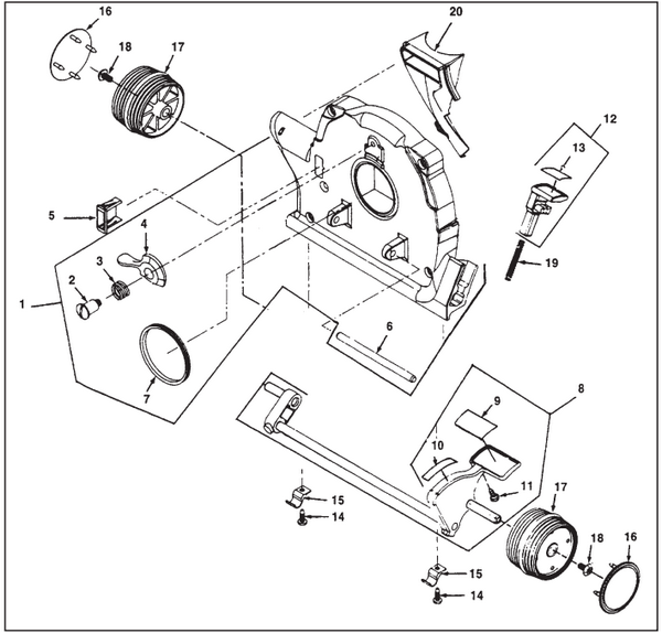 Kirby Sentria Vacuum Parts Diagrams Schematics