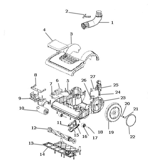 electrolux versatility bagless hepa vacuum parts el8501