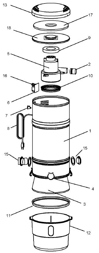 Beam Serenity Plus Model 2875 Evacuumstore Com