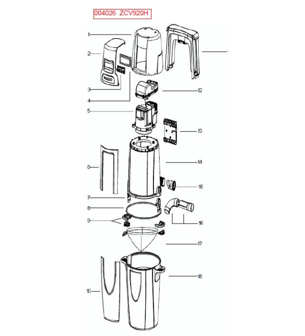 electrolux zcv920h central vacuum accessories