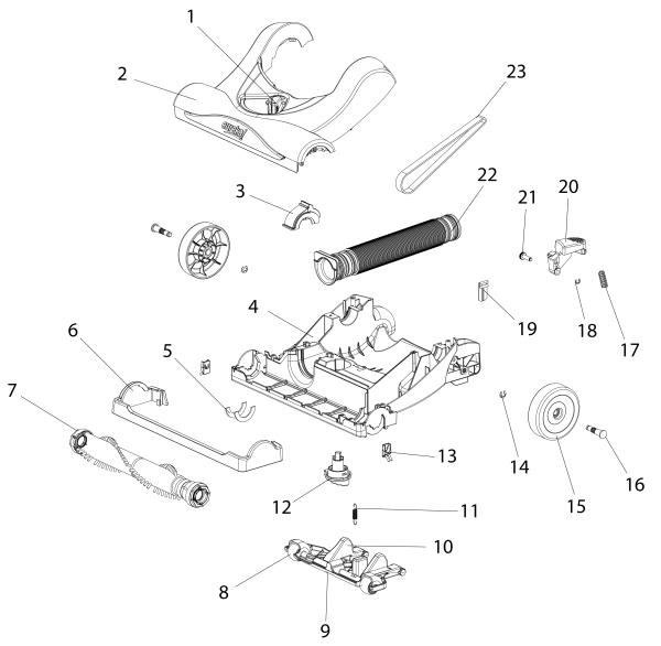Eureka 4242a Parts Diagram