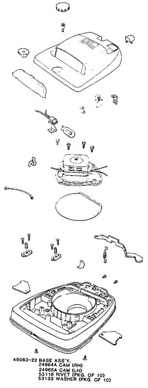 Eureka Series 2100 Factory Parts Diagrams And Schematics