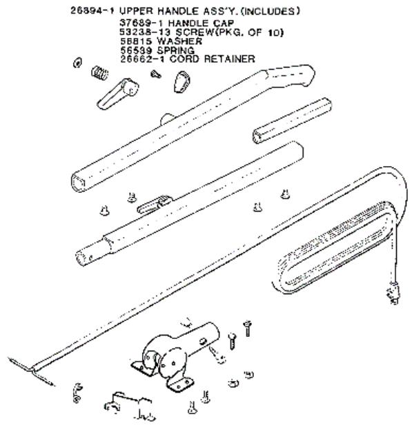 rainbow vacuum parts diagram images