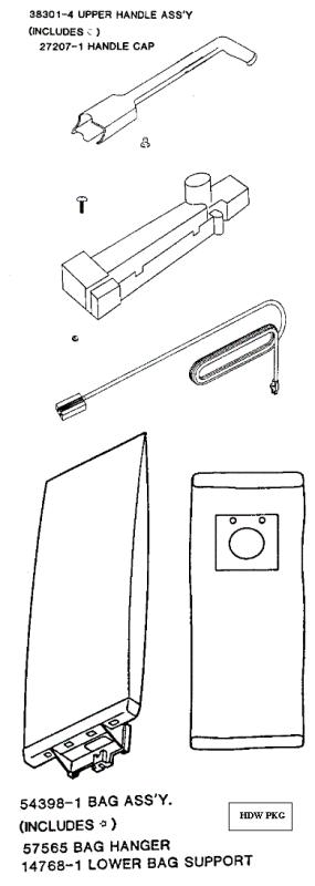 eureka series 9000 factory parts diagrams and schematics  evacuumstore com