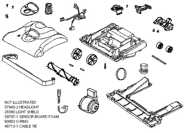 Eureka Series 7900 Factory Parts Diagrams And Schematics