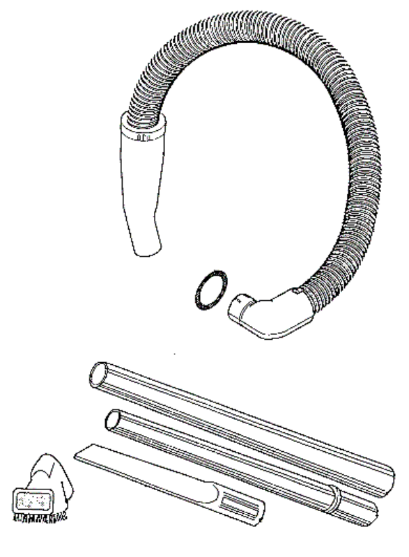 eureka series 6100 factory parts diagrams and schematics  evacuumstore com