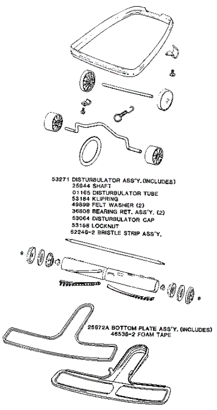 eureka series 4000 factory parts diagrams and schematics